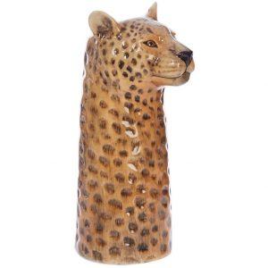 Quail Ceramics flower vase Leopard