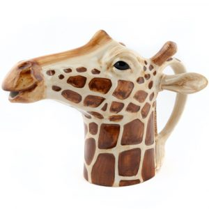 Quail Ceramics jug Giraffe