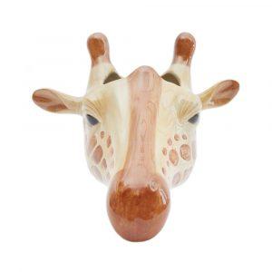Quail Ceramics wall vase Giraffe